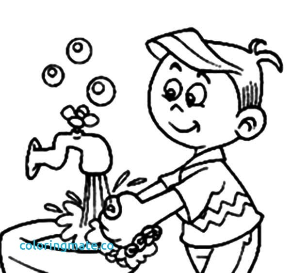 Wash Your Hands Clipart Black And White.