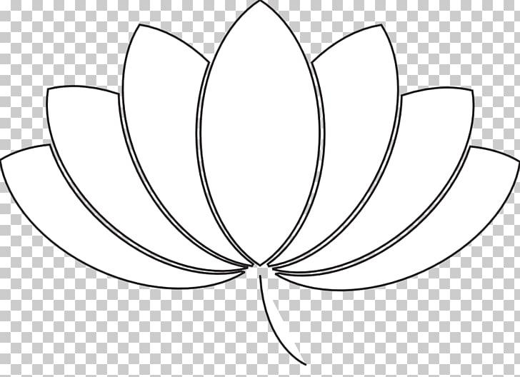 Black and white Line art Leaf Pattern, Cartoon Weed Plant.