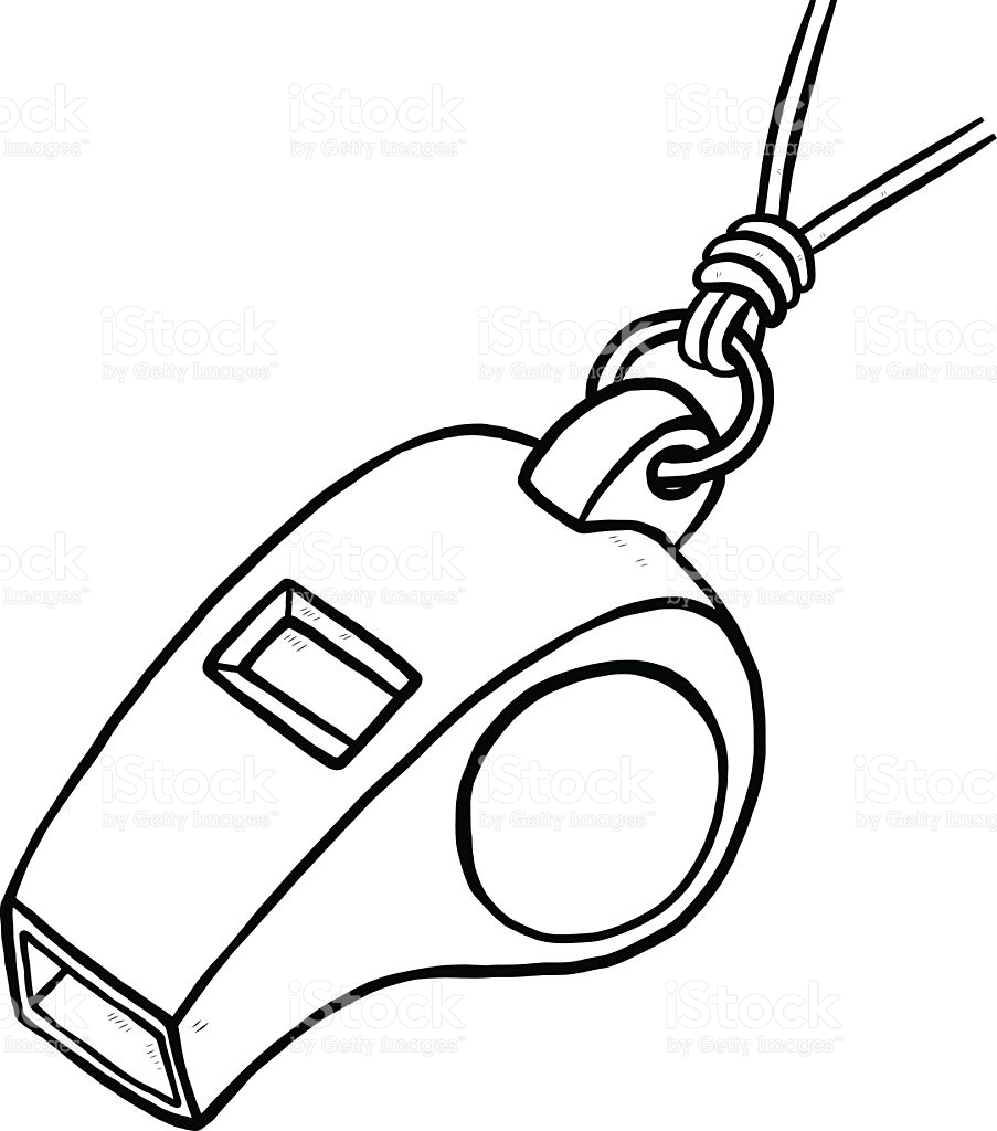 Whistle Clipart Black And White.