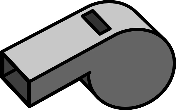 Whistle clipart black and white 2 » Clipart Station.