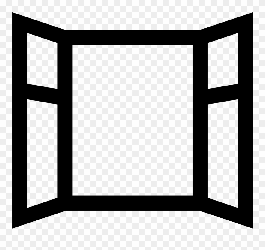 Open Window Icon.