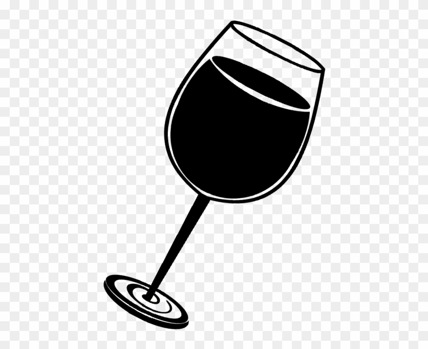 Wine Feminism Page Black And White Wine Glass Png.