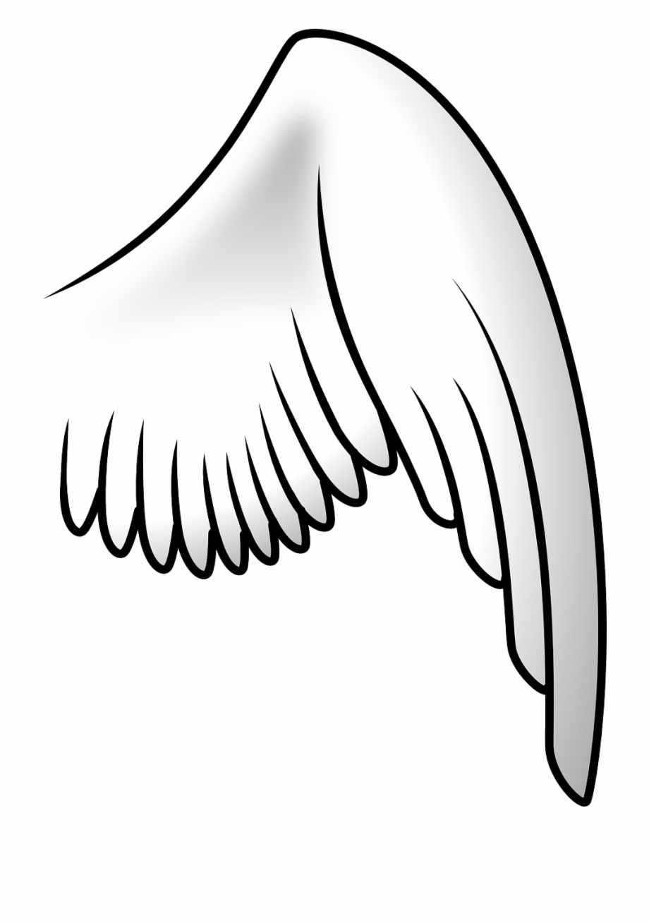 Free Wings Clipart Black And White, Download Free Clip Art.