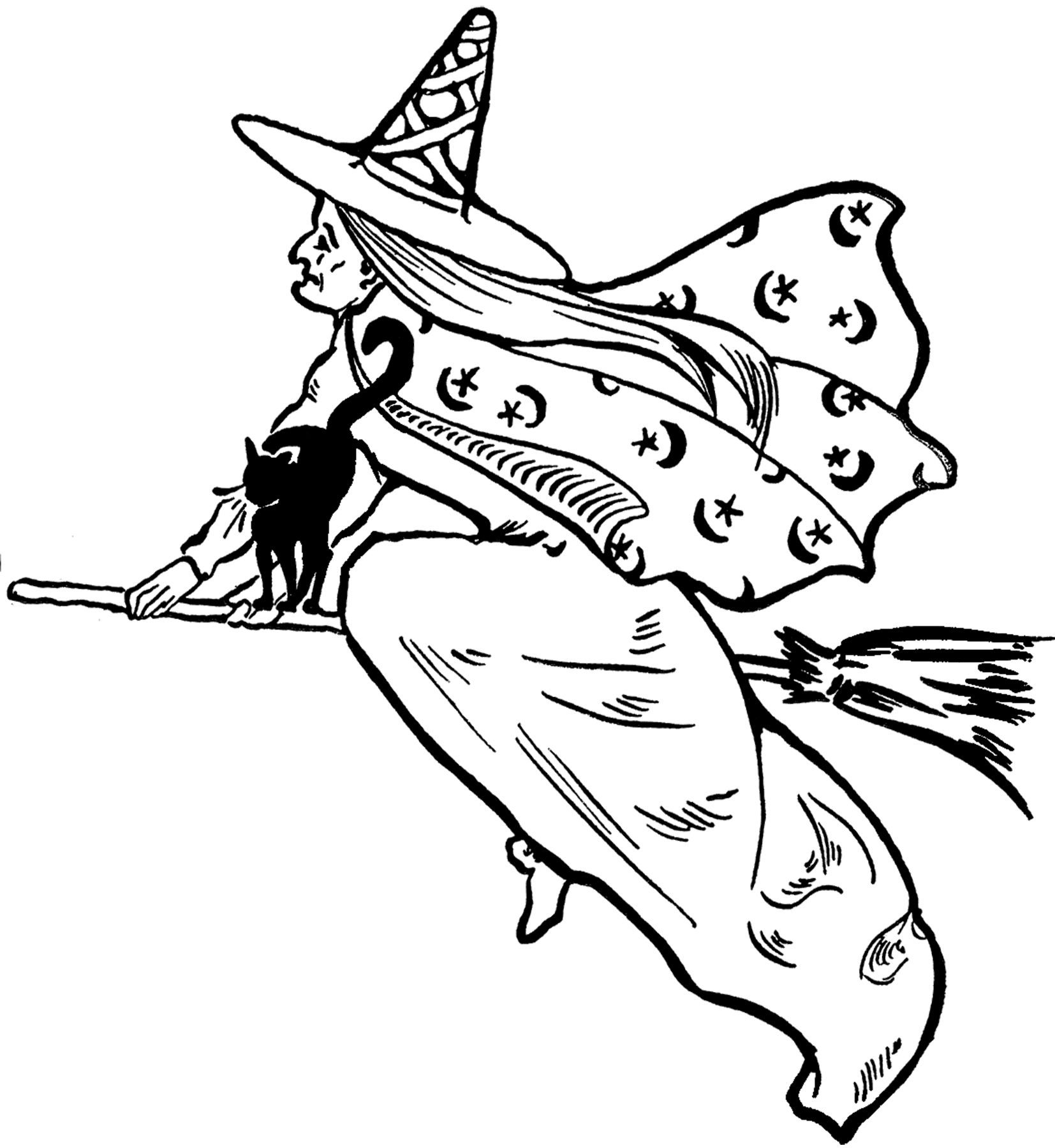 Free Wizard Clipart Black And White, Download Free Clip Art.