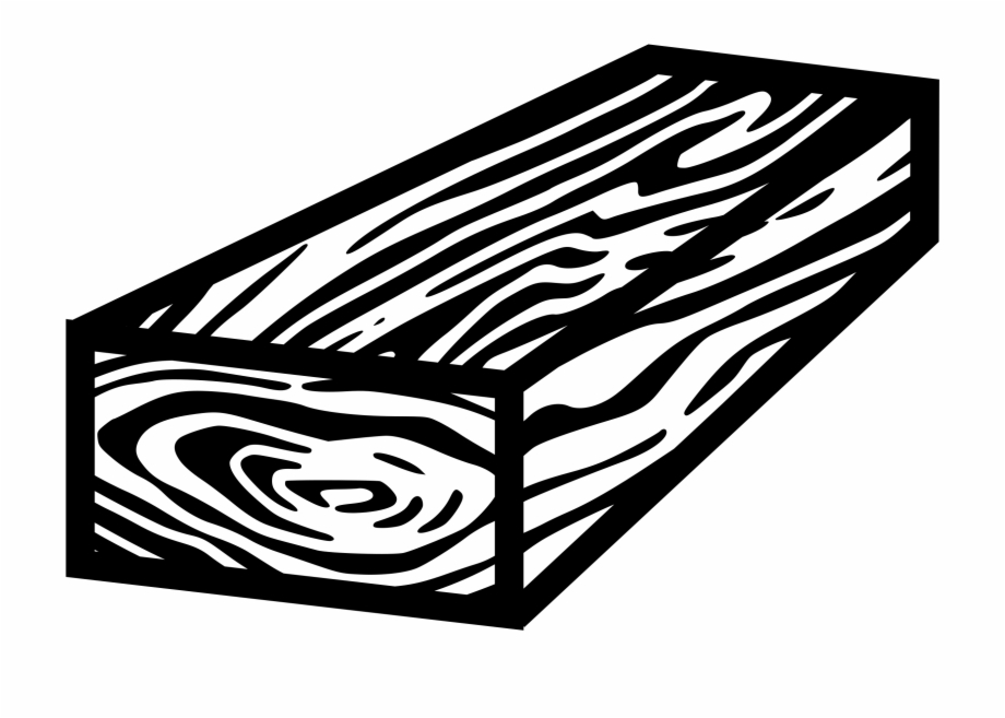 Wood Clipart Wood Png Piece Of Wood Black.