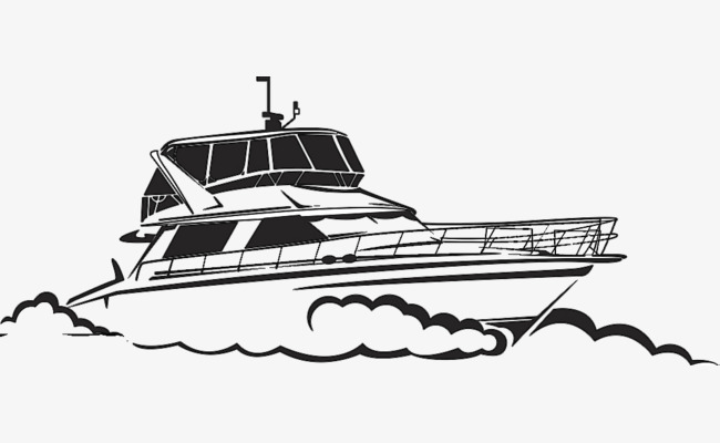 Yacht clipart black and white 6 » Clipart Station.