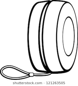 Yoyo clipart black and white 7 » Clipart Station.