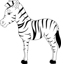 Zebra Clipart Black And White & Zebra Black And White Clip Art.