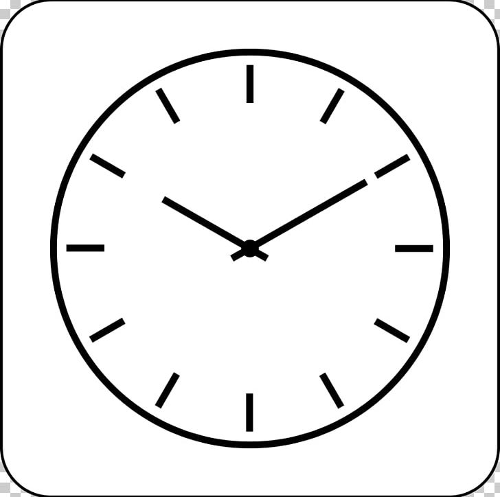 Clock Computer Icons Black And White PNG, Clipart, Alarm Clocks.