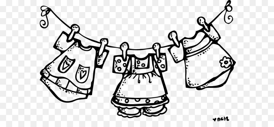 Clothing Line Clipart.