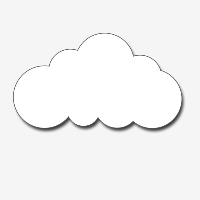 White Clouds Clipart Vector, Download, Free, Clouds PNG Transparent.