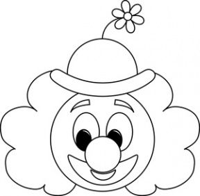 Free Clown Black And White Clipart, Download Free Clip Art.