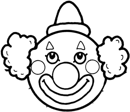 Free Clown Clipart Black And White, Download Free Clip Art.