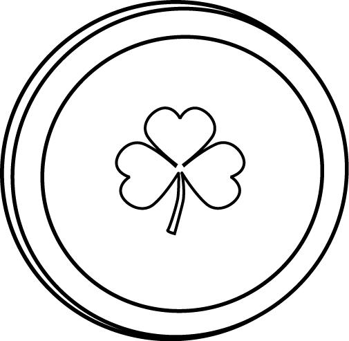 Coin clipart black and white » Clipart Station.