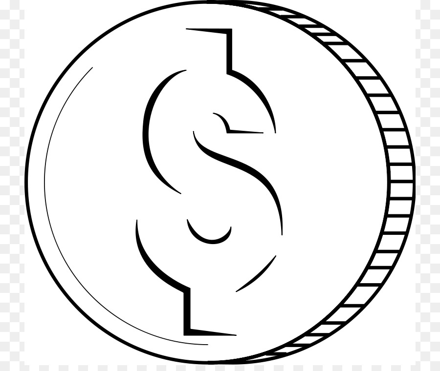 Coins clipart black and white 5 » Clipart Station.
