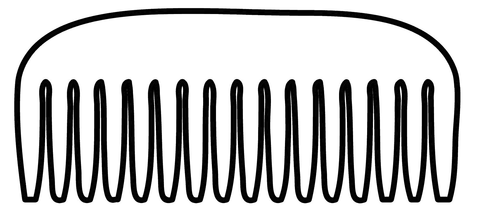 Free Comb Clipart Black And White, Download Free Clip Art.