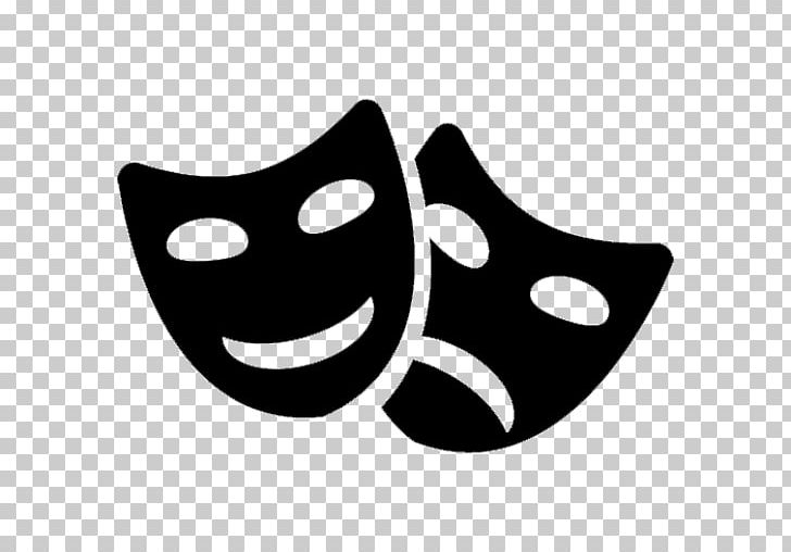 Mask Theatre Comedy Drama PNG, Clipart, Art, Black, Black.