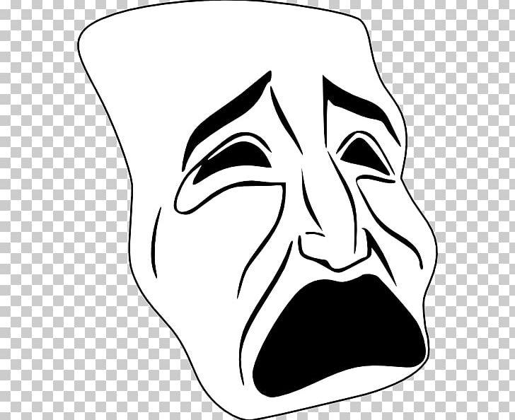 Tragedy Theatre Drama PNG, Clipart, Art, Artwork, Black.