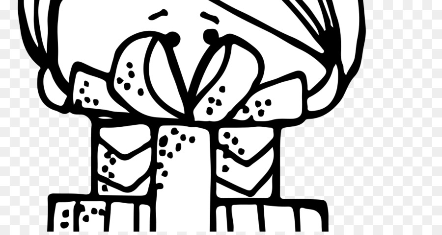 Black and white Coloring book Clip art.