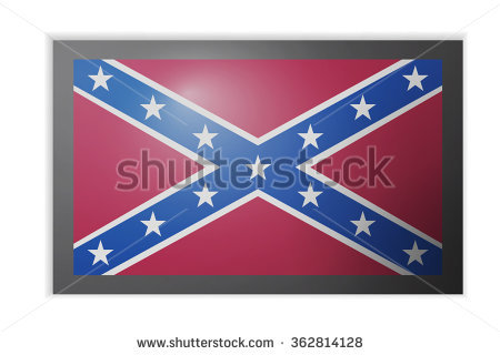Rebel Flag Stock Images, Royalty.