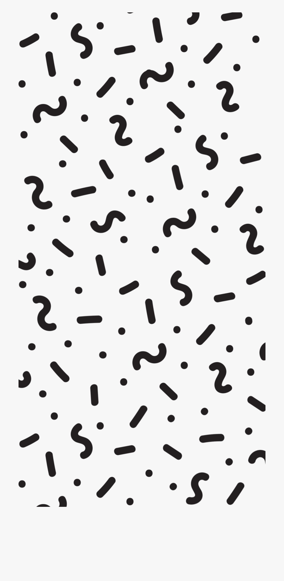 Confetti Clipart Black And White.