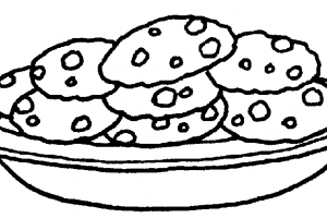 Black and white cookie clipart » Clipart Portal.