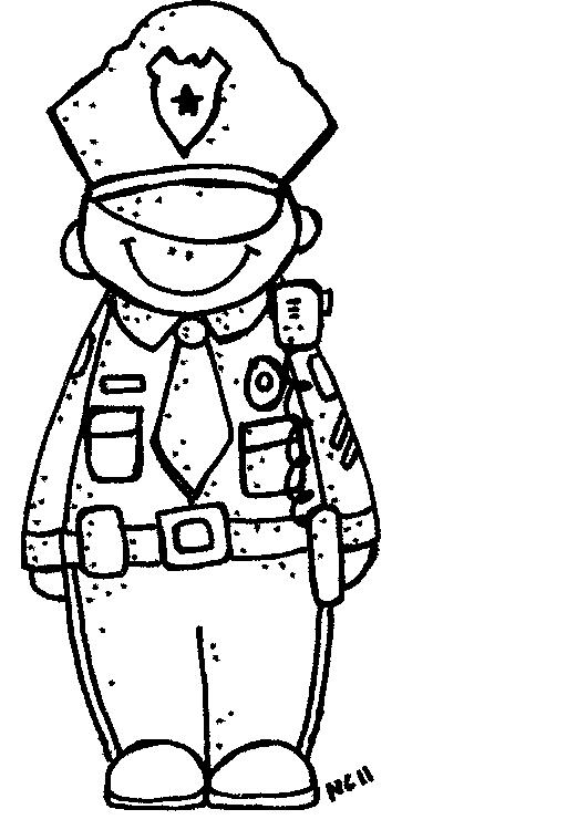 Free Cop Clipart Black And White, Download Free Clip Art.
