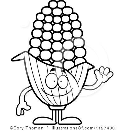 Free Black And White Corn, Download Free Clip Art, Free Clip.