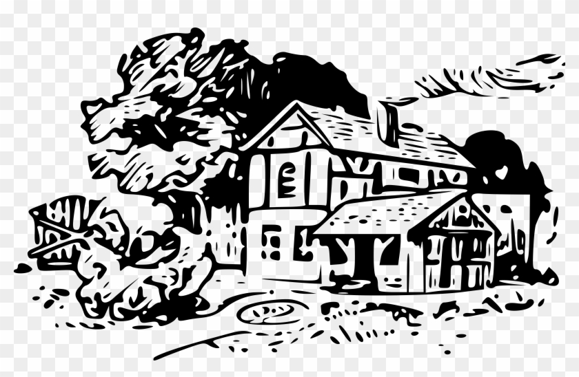 Cottage Clipart Countryside House.