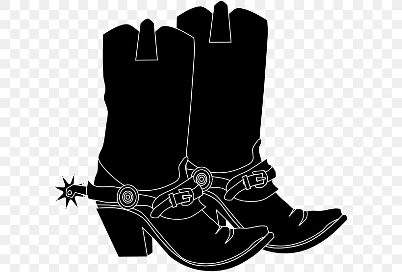 American Frontier Cowboy Boot Clip Art, PNG, 600x556px.