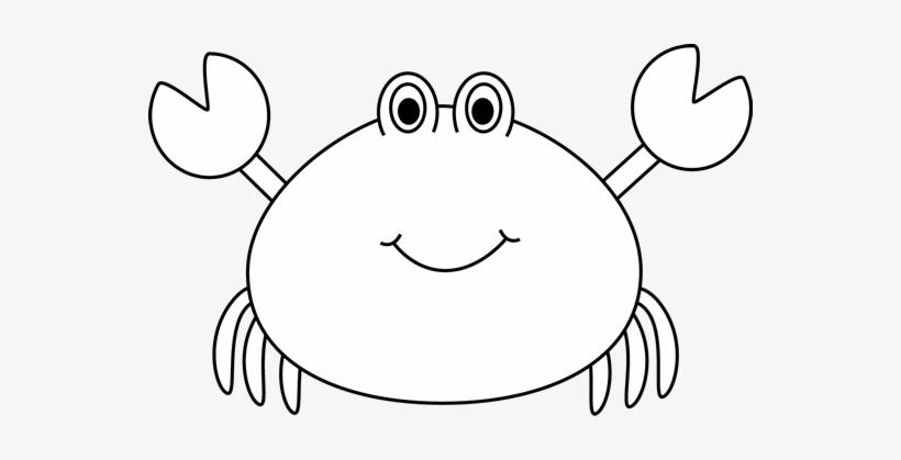Black And White Crab Clip Art.