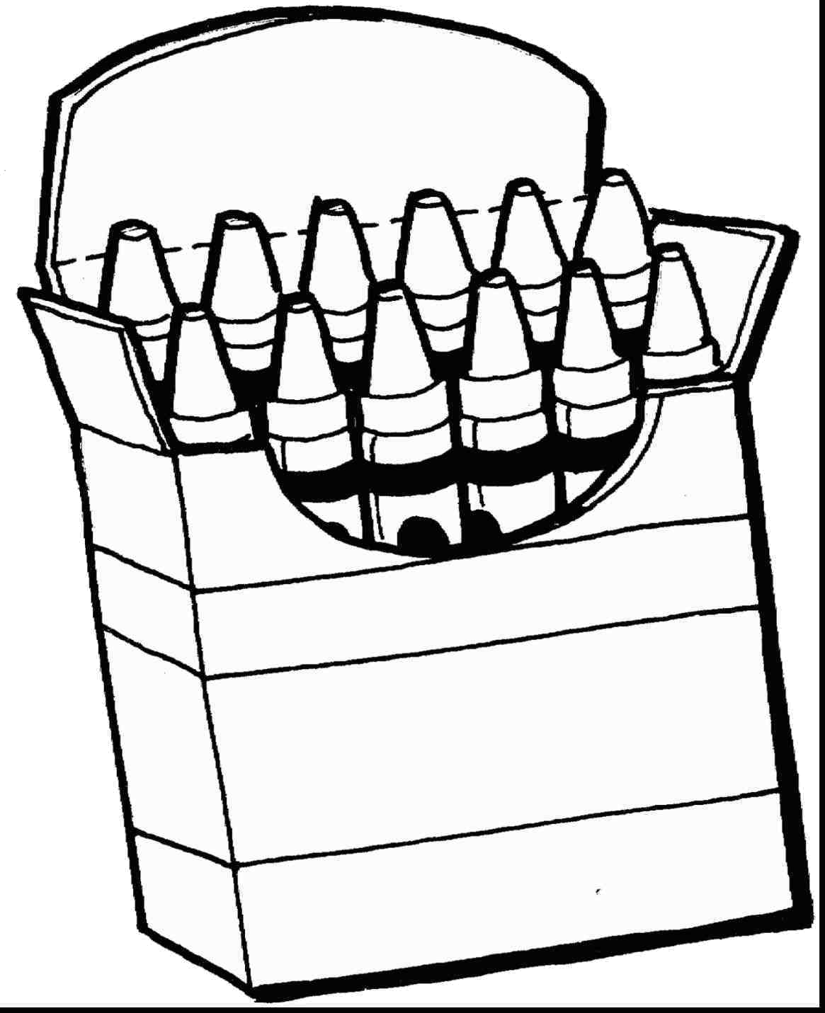 Gray Crayon Coloring Clip Art Black And White Pages Crayons Clipart.