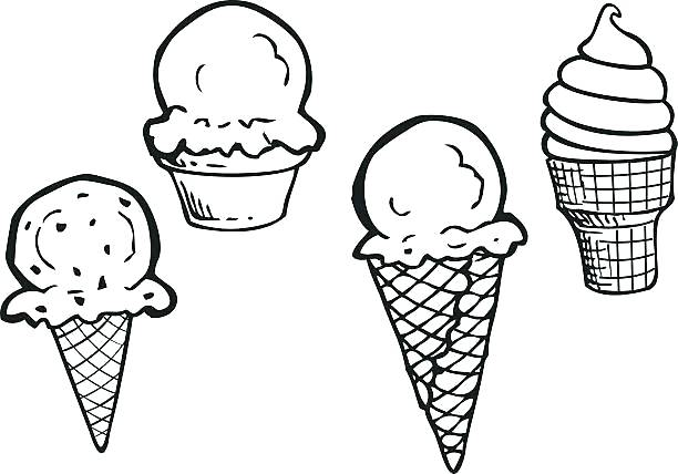 Black and white ice cream clipart 1 » Clipart Station.
