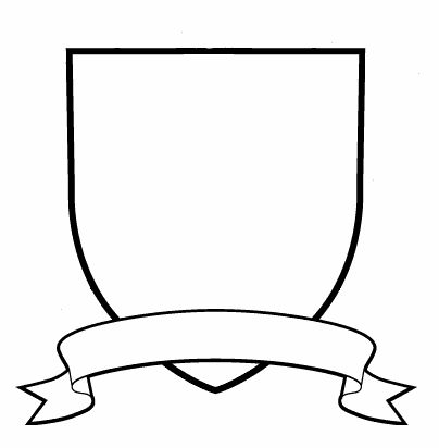 Free Crest Clipart Black And White, Download Free Clip Art.