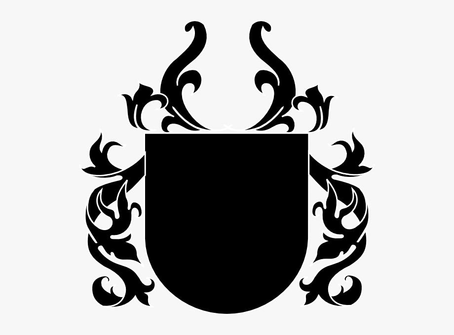 Black Crest Clip Art.