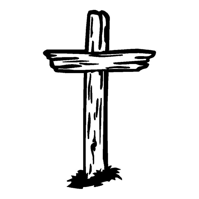Black And White Crosses.