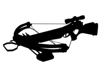 Free Crossbow Silhouette, Download Free Clip Art, Free Clip.