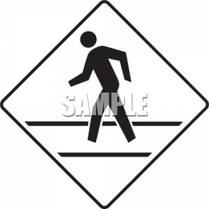Road Sign Clipart Black And White.