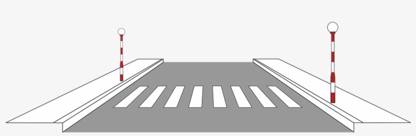 Graphic Road Pedestrian Crossing Traffic S.