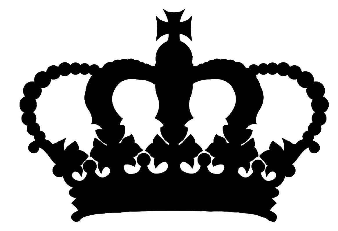 Black and white crown clipart » Clipart Station.