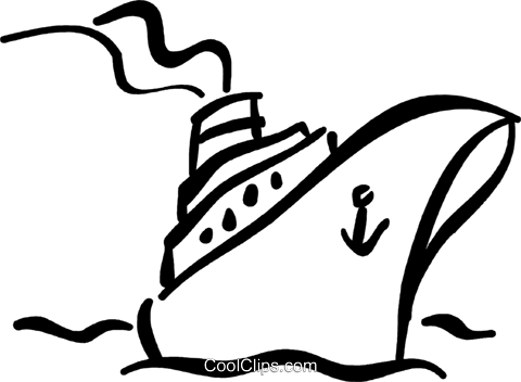 Cruise ship clip art black and white dfiles.