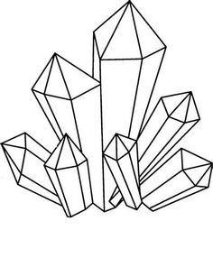 Crystals Clipart.