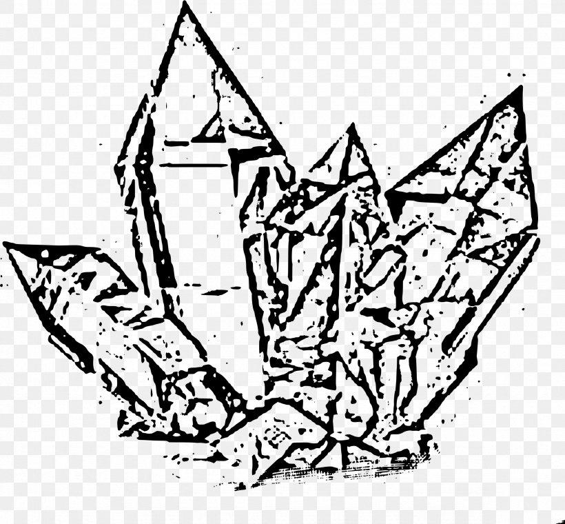 Crystal Quartz Drawing Clip Art, PNG, 2355x2184px, Crystal.