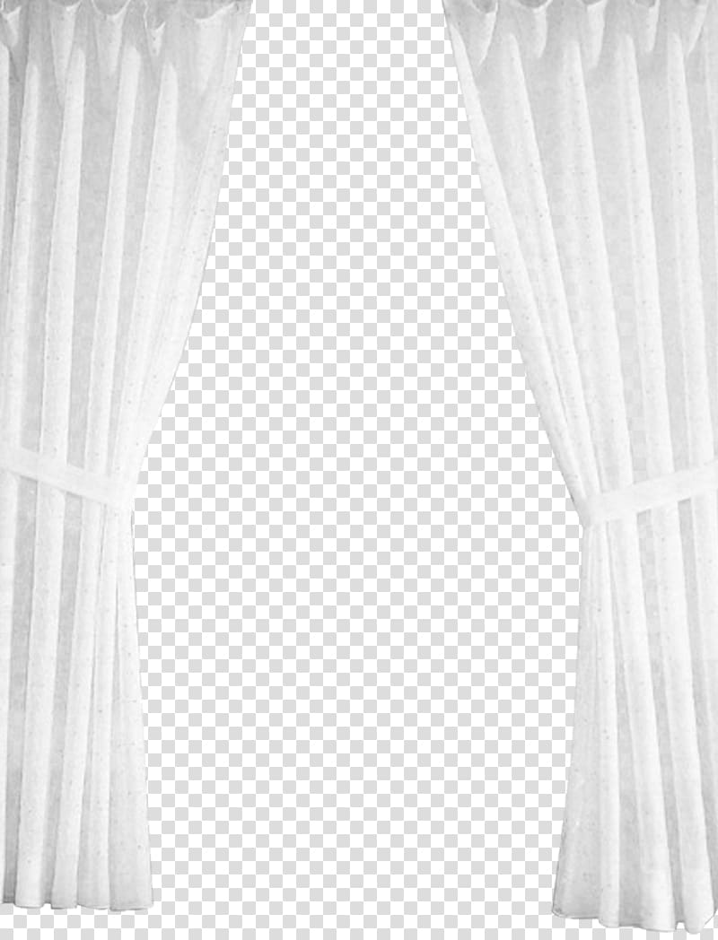 White window curtains, Curtain White, White pull away.