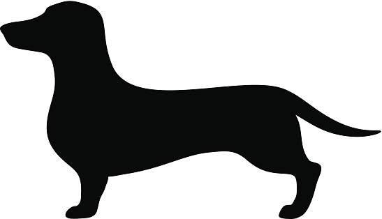 Free Dachshund Clipart Black And White, Download Free Clip.