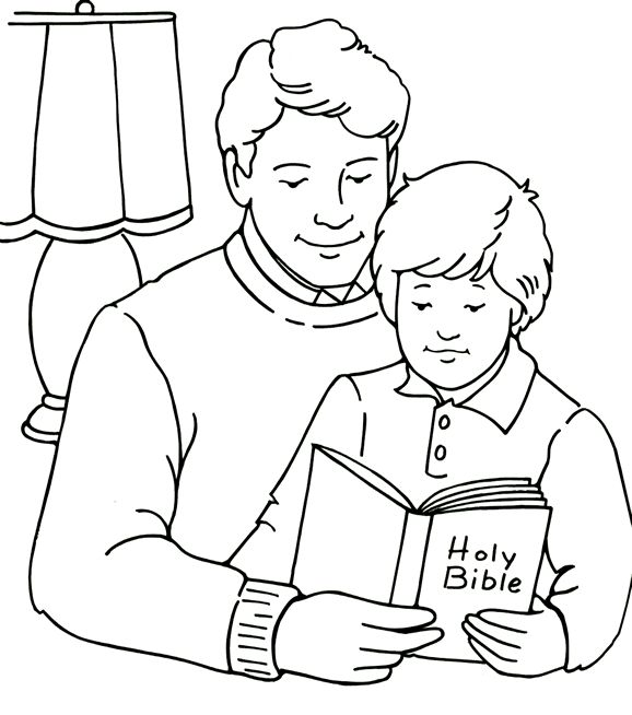 Dad clipart black and white 4 » Clipart Station.