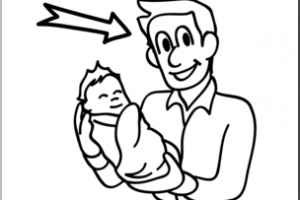 Dad clipart black and white 2 » Clipart Station.