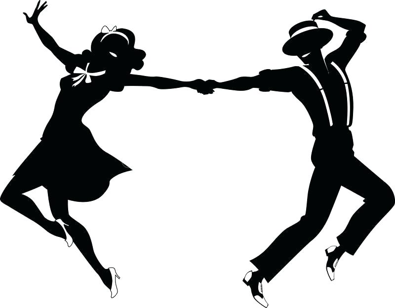 Swing Dance Clipart.