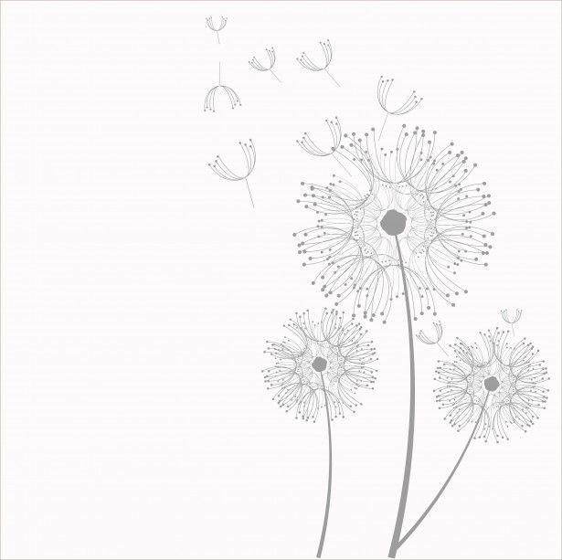 Dandelion Flowers Clipart Free Stock Photo.
