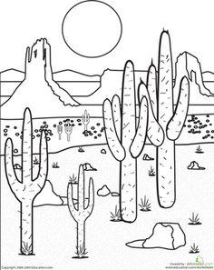 2751 Desert free clipart.